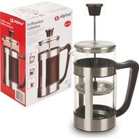Alpına French Press Kahve Filtresi 1 LİTRE Alpina Coffee Maker INOX