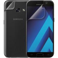 Microsonic Samsung Galaxy A3 2017 Ön + Arka Kavisler Dahil Tam Ekran Kaplayıcı Film