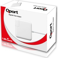 Qport Q-MCS240 Mac Adaptörü 14.5V 3.1A 45W Air MAGSAFE2