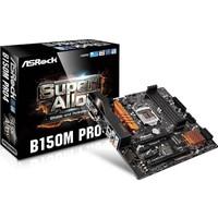 Asrock B150M Pro4 Intel B150 2133MHz DDR4 Soket 1151 mATX Anakart (ASRB150M-PRO4)