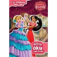 Disney Prenses Elena Boya Oku Yapıştır – En İyi Arkadaşımın Doğumgünü