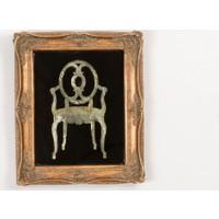 Madame Coco Sandalye Tablo 26.5x31.3x3.6 Cm