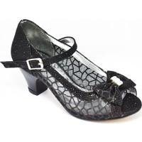 Raker B52-Sİ Abiye Siyah Kız Çocuk Ayakkabı