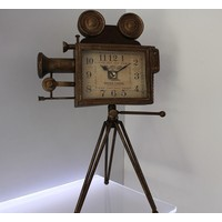 Klc Ayaklı Kamera Masa Saati