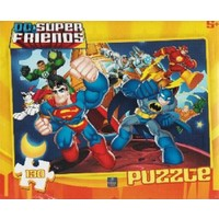 Degar Oyuncak 130 Parça Superman Puzzle 6362
