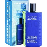 Davidoff Cool Water Love The Ocean National Geographic EDT 200 ml Erkek Parfüm