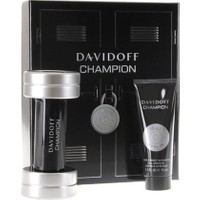 Davidoff Champion Set ( Eau De Toilette Parfüm 50 ml + Hair Body Shampoo 75 ml)