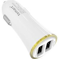 Tsmart Apple iPhone Şarj Kablolu 3.4A Araç Şarj Cihazı