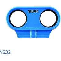 Yıldız Y532 Plastik Basınç Düşürücü Manometre Muhafazası ( Mavi )