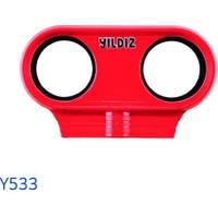 Yıldız Y533 Plastik Basınç Düşürücü Manometre Muhafazası ( Kırmızı )