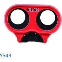 Yıldız Y543 Plastik Basınç Düşürücü Manometre Muhafazası ( Kırmızı )