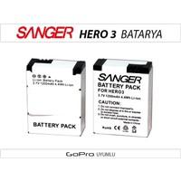 Sanger Gopro Hero 3 3+ Batarya Pil