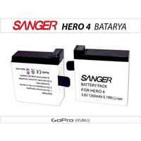 Sanger Gopro Hero 4 Batarya Pil