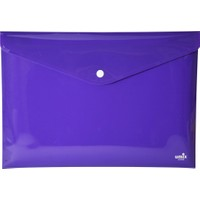 Umix Çıtçıtlı Zarf Dosya A5 Neon Mor
