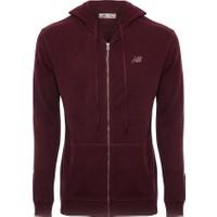 New Balance MTJ1733 Bordo Erkek Sweatshirt