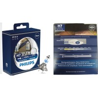 Philips 12V H7 +150 Işık Racingvision Xtreme Extreme 12972Rvs2