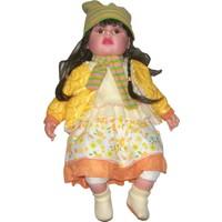 Güzgülü Gerçek Yüzlü 55 cm Elbiseli Bebek - 1636