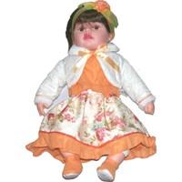 Güzgülü Gerçek Yüzlü 55 cm Elbiseli Bebek - 2160