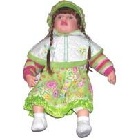 Güzgülü Gerçek Yüzlü 55 cm Elbiseli Bebek - 2991