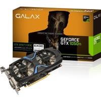 Galax Nvidia GeForce GTX1050 Ti EX OC 4GB 128Bit (DX12) DDR5 PCI-E 3.0 Ekran Kartı 50IQH8DVN6EC