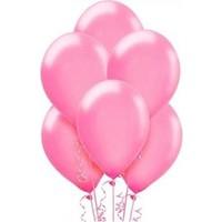 Sweetsorcery Pembe Metalik Balon 8'Li