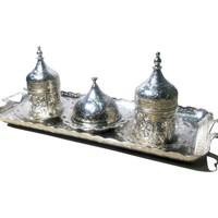 Acar 2'li Osmanlı Kahve Takımı
