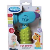 Playgro Komik Sesler Çekiç-Renkli 7729