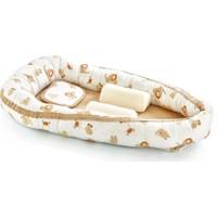 Baby Jem Anne Baba Yanı Bebek Yatağı - Kahverengi