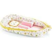 Baby Jem Anne Baba Yanı Bebek Yatağı - Sarı