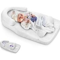 Baby Jem Reflü ve Düz Kafa Yastığı - Beyaz