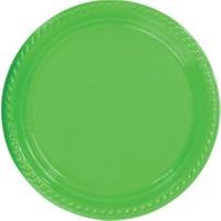 PartyTime Yeşil Yuvarlak Tabak