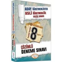 Yediiklim Yayınları Aday Öğretmenlik Fasikül Fasikül 8 Çözümlü Deneme Sınavı