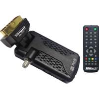 Ramtech Partyy Mini Scart Uydu Alıcısı Otomatik Güncellemeli