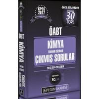 Pegem Akademi Yayınları Kpss Öabt 2017 Kimya Tamamı Çözümlü Çıkmış Sorular