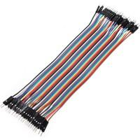 Güvenrob Erkek-Erkek Jumper Kablosu - Dupont Line 40 Pin 20cm