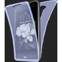 Akıllıphone Lg K7 360 Koruma Silikon Kılıf