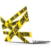 Sticker Masters Crime Science Laptop Sticker