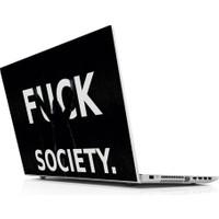 Sticker Masters Fck Society Laptop Sticker