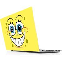 Sticker Masters Sponge Bob 32 Theet With Open Eyes Laptop Sticker