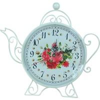 Ferforje Çaydanlık Saat