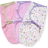 Summer Infant Swaddle Me Kundak 3'lu Paket Pembe