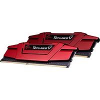 Gskıll Ripjawsv Kırmızı 16Gb (2X8) 2400Mhz Ddr4 Cl15 Pc Ram F4-2400C15D-16Gvr 1.2V