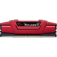 Gskıll Ripjawsv Kırmızı 8Gb 2400Mhz Ddr4 Cl15 Pc Ram F4-2400C15S-8Gvr 1.2V