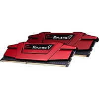 Gskıll Ripjawsv Kırmızı 8Gb 3000Mhz Ddr4 Soğutuculu Cl15 Pc Ram F4-3000C15S-8Gvrb
