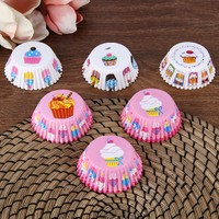 Loveq Cupcake 50'Li Muffin Kalıbı