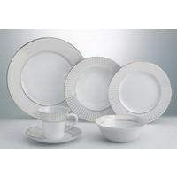 Yemek / Kahvaltı Takımı Emsan Yemek Tk. Moon Grid Platin Yuvarlak