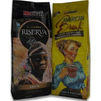Caffe Molinari 250G Kenya + 250G American Break Filtre Kahve - %25 İndirimli Paket