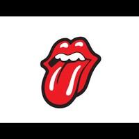 Otografik - R. Stones Tongue Renkli Oto Stıcker 13Cm X 15Cm