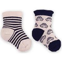 İdil Baby 8817 Erkek Bebek 2'li Çorap