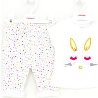 Mamino 8513 Kız Bebek Pijama Takımı